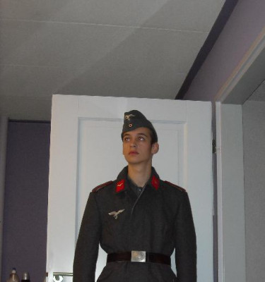Mijn luftwaffe uniform (Flak abt.)
