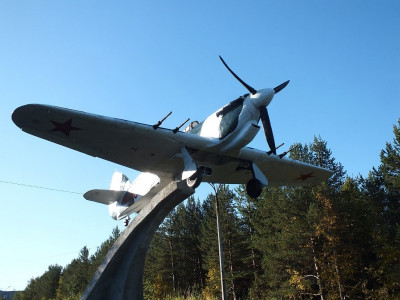 Hawker Hurricane in Revda, Murmansk Oblast..jpg